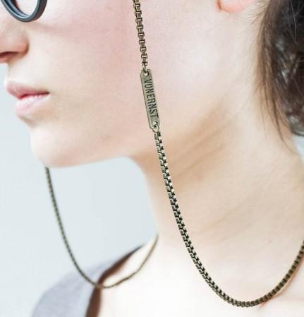 VONERNST Brillenkette Venezianer Messing