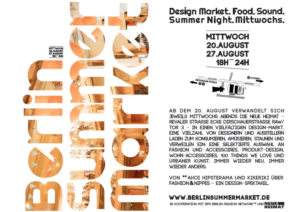Berlin-Summer-Market