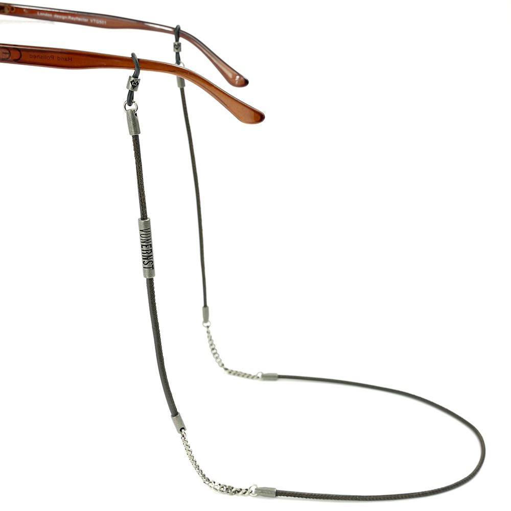 VONERNST Brillenband deluxe dunkelbraun