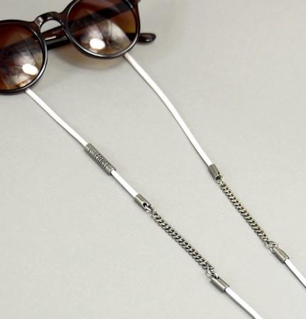 VONERNST Brillenband deluxe weiß