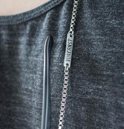 VONERNST Brillenkette Venezianer Silber