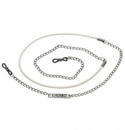 VONERNST Leder-Brillenkette Oval