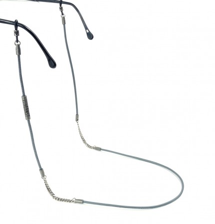VONERNST Brillenband deluxe anthrazit