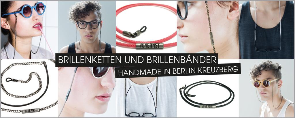 VONERNST Banner Slider Brillenbänder und Brillenketten Handmade in Berlin Kreuzberg im Mosaik-Stil